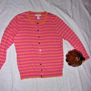 Banana Republic Medium  Small sweater pink orange
